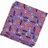 Halloween Purple Napkins Party Accessory