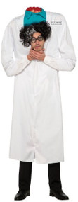 Adults Dr D'Capitated Fancy Dress Costume