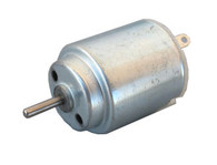 DC Motor, Round, Metal Brush