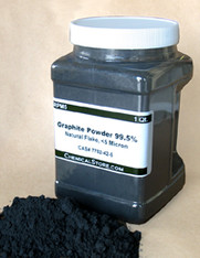 Graphite Powder, Micronized Flake, >95% (Quart Container)