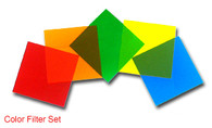 "Color Filter, Set of 5 Colors, 2"" x 2"""