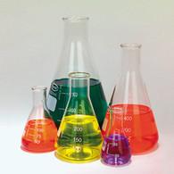 Glass Erlenmeyer Flask, Set of 5