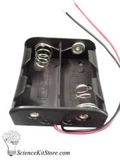 Battery Holder, 2C, Plastic