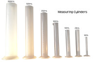 Graduated Measuring Cylinder, 250mL Polypropylene