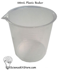 Beaker 100mL, Polypropylene