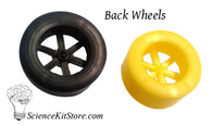 Plastic Back Wheels (Pack of 100)