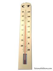 "Wall Thermometer, Jumbo 15"""