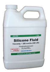 Silicon e Fluid, 350 Cst (Qt.)