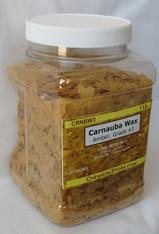 Carnauba Wax Flakes #3, Amber