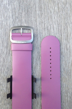 Purple Leather Wrist Bracelet