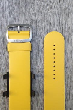 Yellow Leather Wrist Bracelet
