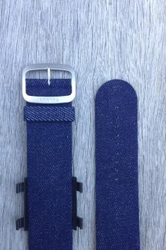 Navy Denim Wrist Bracelet
