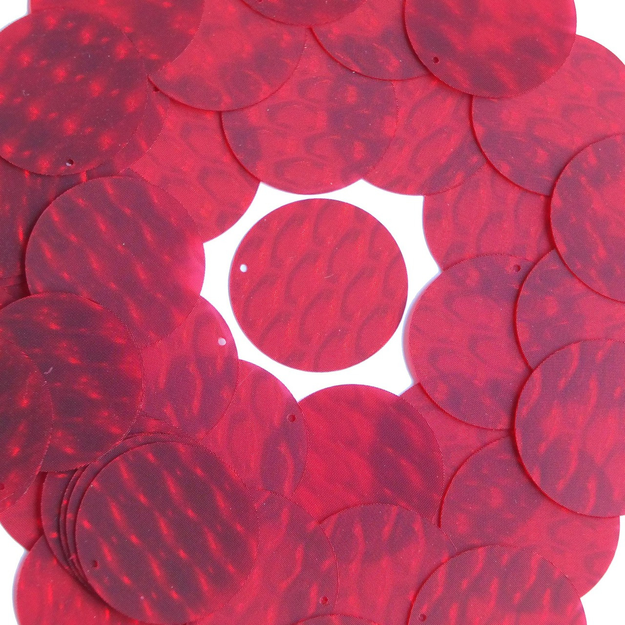 3d Red Reflectors : Mm sequins red d dimensional reflector sequinsusa