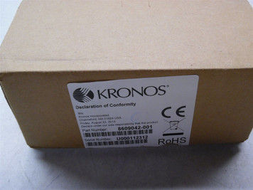 Kronos Touch ID Plus H3 Biometric Reader 8609042-001 Brand New Factory Sealed