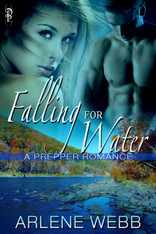 Falling for Water (Prepper Romance)
