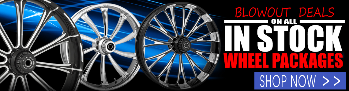 RC Components Blowout Prices on in-stock wheel packages.   Lifetime Warranty