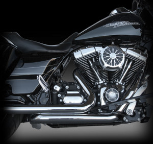 RCX Tormentor headers with chrome heat shields.