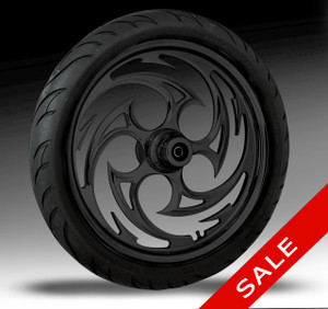 23x3.75 Savage Solid Black Wheel w/ Avon Tire