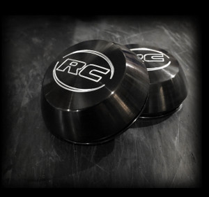Black Anodized Center Caps- Standard Size