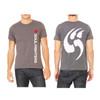 Men's Gray Logo Claw T-shirt