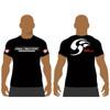 Men's Black Soul Fighters School T-shirt
