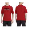 Kids's Red Chest Logo T-shirt