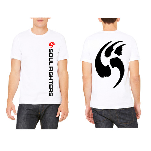 Men's White Logo Claw T-shirt