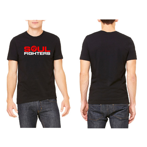 Men's Black Chest Logo T-shirt
