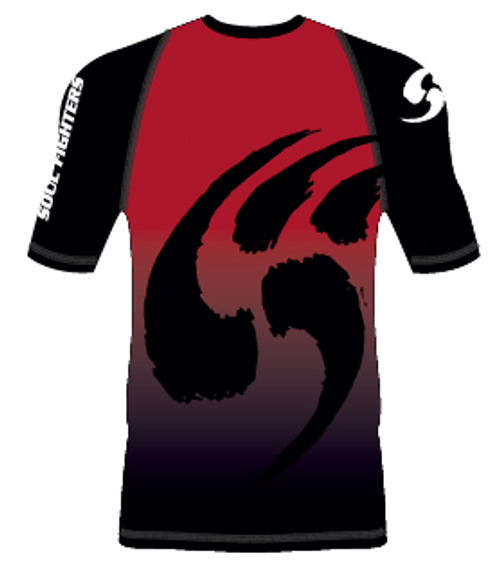 Soul Fighters Red Claw Short Sleeve Rash Guard