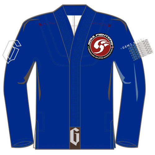 Gameness Feather Gi BLUE