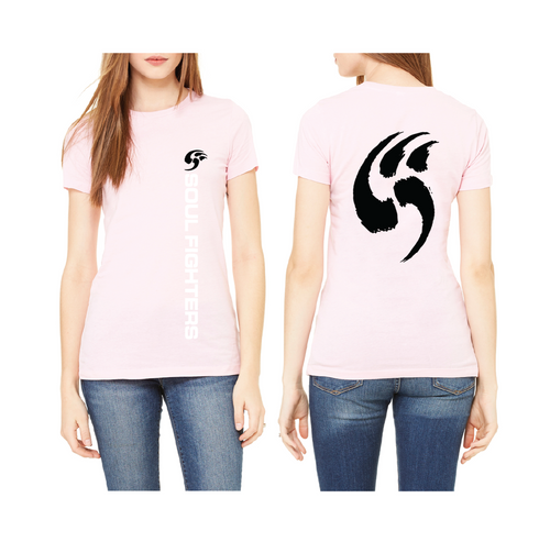 Women's Pink Claw T-shirt