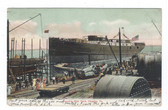 Chester, Pennsylvania Postcard:  Roach's Ship Yard