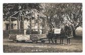 Hermon, Maine Real Photo Postcard:  IOOF Float, 1914 Centennial Parade