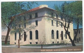 Albuquerque, New Mexico Postcard:  Post Office