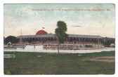 Hagerstown, Maryland Postcard:  The Grand Stand at the Great Hagerstown Fairgrounds