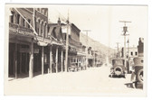 Virginia City, Nevada Real Photo Postcard:  C Street