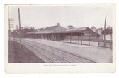 Atlantic, Massachusetts Postcard:  Railroad Station