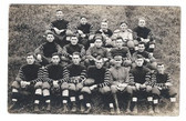 Winthrop, Massachusetts Real Photo Postcard:  Fort Banks Football Team