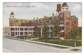Nampa, Idaho Postcard:  Dewey Palace Hotel