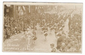 Boston, Massachusetts Real Photo Postcard:   1930 American Legion Parade