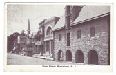 Blairstown, New Jersey Postcard:  Main Street