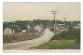 Burnsville, Pennsylvania Postcard:  Burnsville Looking North