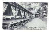 Asilomar, California Postcard:  Tent Houses, YWCA Conference Grounds