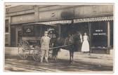 Kansas City, Missouri Real Photo Postcard:  Wank's Home Bakery & Horse-Drawn Delivery Wagon