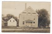 Canaan, Maine Real Photo Postcard:  Grange Hall