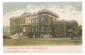 Walkerville, Ontario, Canada Postcard:  Hiram Walker & Sons' Office