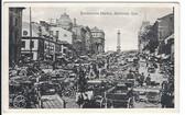 Montreal, Quebec, Canada Postcard:  Bonsecours Market