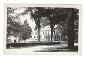 West Swanzey, New Hampshire Real Photo Postcard: N.H. Knights of Pythias Home