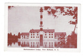 New Holland, North Carolina Postcard:  Mattamuskeet Lodge