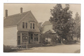Berry Mills, Maine Real Photo Postcard:  Smith's Store